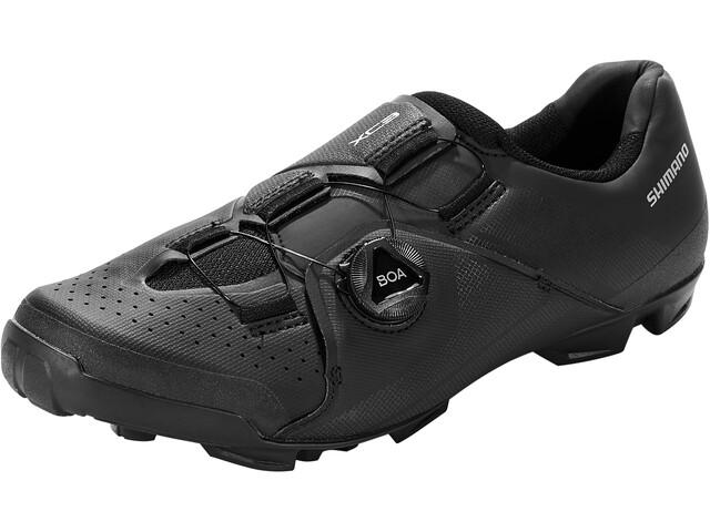 Shimano SH-XC3 Bike Shoes Wide Men, negro